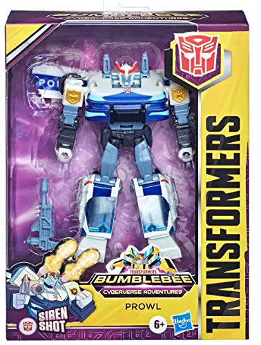 Transformers TRA CYBERVERSE Deluxe Prowl