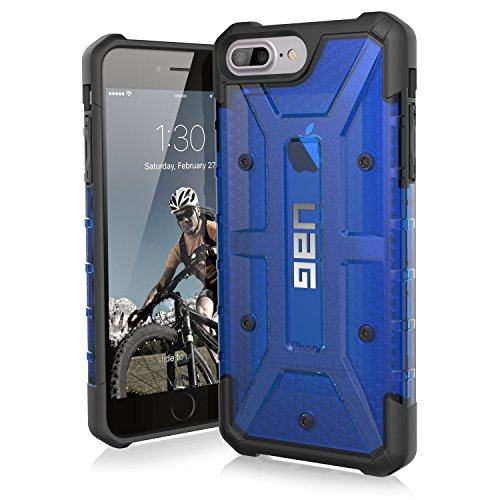 UAG iPhone 8 Plus /  iPhone 7 Plus / iPhone 6s Plus [5.5-inch screen] Plasma Feather-Light Rugged [COBALT] Military Drop Tested iPhone Case