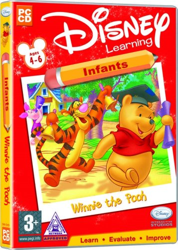 Disney Learning Winnie The Pooh Infants Ages 4-6 (PC)