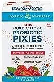 7. Nordic Naturals Kids Probiotic Pixies - Probiotic Powder for Children's Digestive Health, Sugar-Free, Vegetarian, Vegan - 30 Count, Berry
