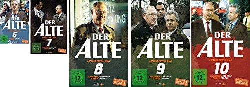 Der Alte - Collector's Box Vol. 6-10 (25 DVDs)