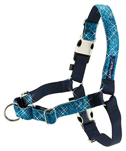 PetSafe Bling Easy Walk Harness, Large, Blue