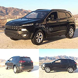 GreenSun 1:32 Jeep Grand Cherokee SUV Alloy Diecast Car Model Exquisite Diecasts Toy Vehicles Pull Back Sound Kids Toys
