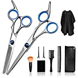 Best Hair Scissors - Haircut Kit, Professional Hair Cutting Scissors Kit Men Review