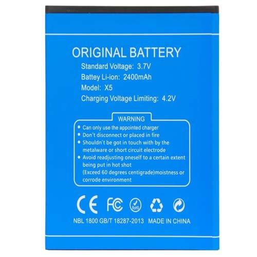 Movilconsolas Bateria 3.7V 2400mAh Doogee X5 Pro Swap