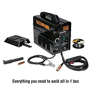 125 Amp 120 Volt/20 Amp Flux Core Wire Welder by Chicago
