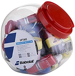 Babolat Uptake X30 Tennis Grip (Assorted) Pack of 1 Grip by Kingsmen Line
