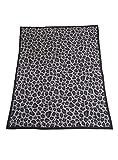 Barefoot Dreams CozyChic Safari Blanket Dove Gray Multi