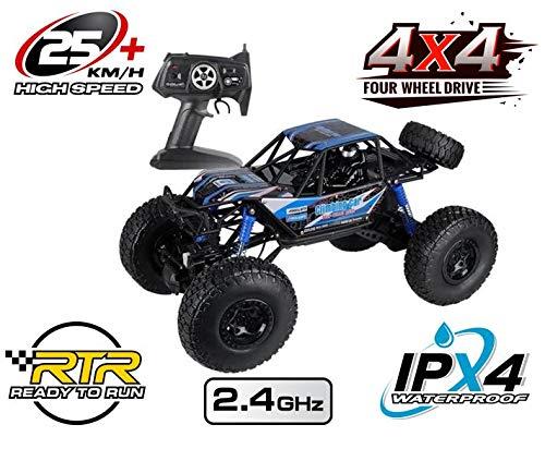Unbekannt RC Allrad Rock Crawler X-Warrior 2,4 Ghz. 1/2 Meter Länge✔Wasserdicht✔Allrad✔NEU✔ Rennauto Truck ferngesteuertes Auto Buggy