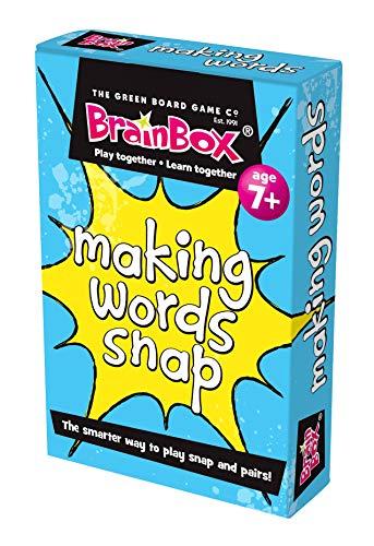 The Green Board Game Co. Making Words Snap Kartenspiel (englischsprachig)