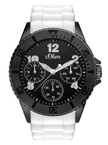 s.Oliver Time Herren-Armbanduhr SO-3294-PM