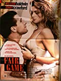 Fair Game - Cindy Crawford - William Baldwin - Filmposter