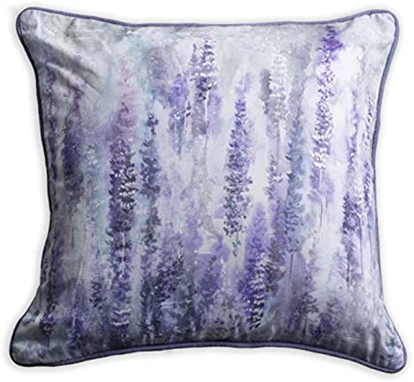 Maison D Hermine Rose Lavender Sage 100 Cotton Lavender Morning Decorative Pillow Cover 20 Inch By 20 Inch
