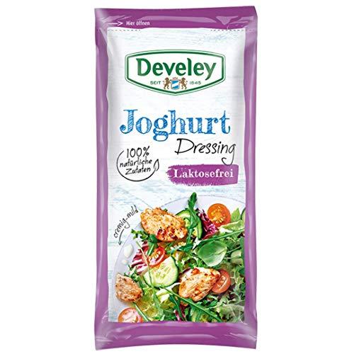 Develey Joghurt Dressing laktosefrei mit 100% natürlichen Zutaten 14x 75 ml Beutel