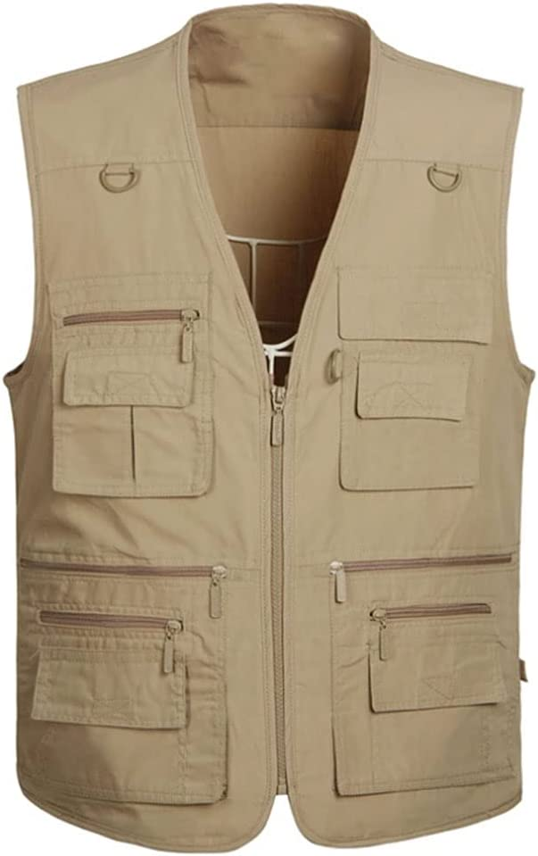 Fishing Vests for Men Vest Special price for a limited time Outerwear Overseas parallel import regular item Multi Pocket S