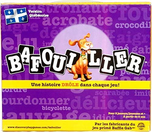 Bafouiller (French Canadian Baffle Gab) - A funny story in every game by Discovery Bay Games