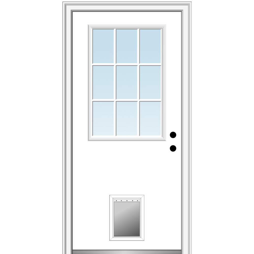 Amazon Com National Door Company Pet Door Options This design is made for use on either interior or exterior doors. pet door options