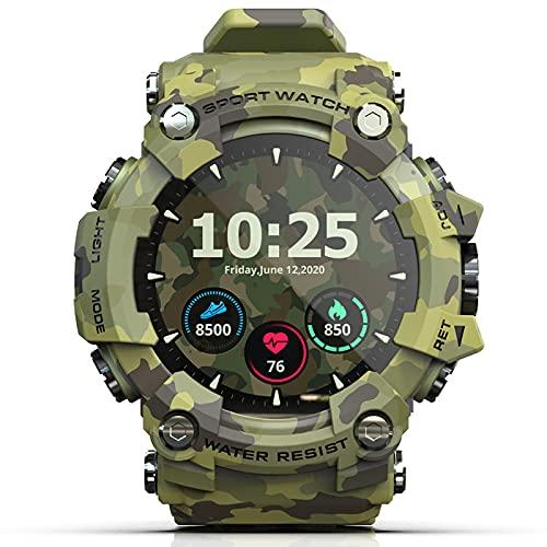 Smartwatches Reloj Inteligente Rastreadores De Actividad FíSica para Hombres Mujeres con Frecuencia CardíAca Monitor SueñO Relojes Deportivos A Prueba Agua,Multicoloured