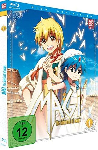 Magi - The Labyrinth of Magic - Box 1 [Blu-ray]