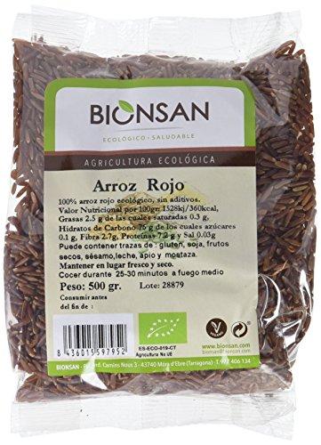 Bionsan Arroz Rojo de Cultivo Ecológico - 500 g