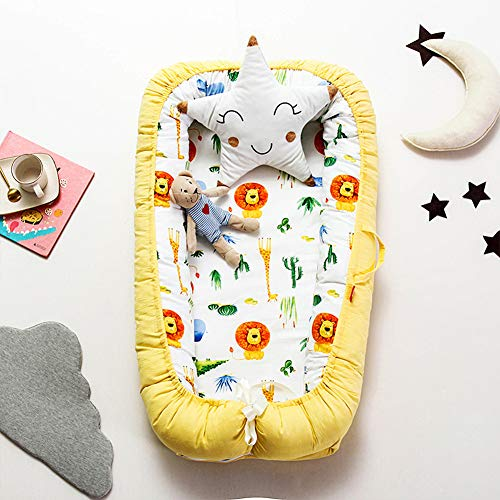 Learn More About Baby Nest for Newborn and Babies, Baby Pod Cocoon Double Sided, Baby Bassinet for B...