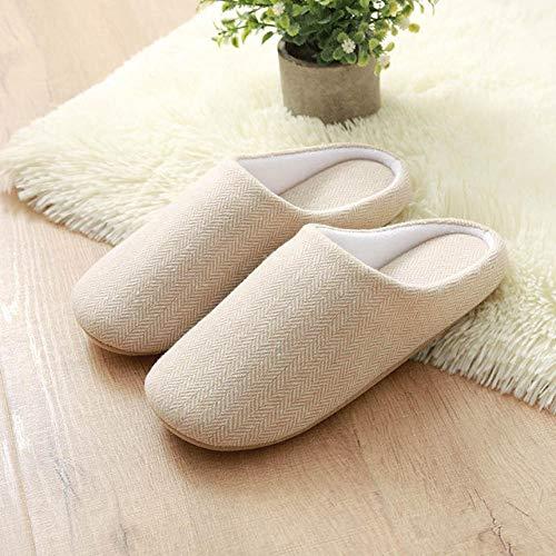 zapatillas casa hombre,Cálidas zapatillas Maoju de otoño e invierno, zapatillas de invierno para el hogar de los hombres, código antideslizante de gran tamaño para hombres, parte inferior gruesa de a
