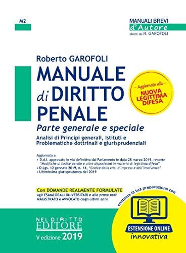 Manuale di diritto penale. Parte generale e speciale. Con espansione online