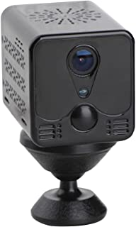 "Berbeem Mini Spy Camera, 1080P HD Bewakingscamera Indoor Draadloos, 2"" Kleine Nanny Cam Baby Huisdier Monitor"