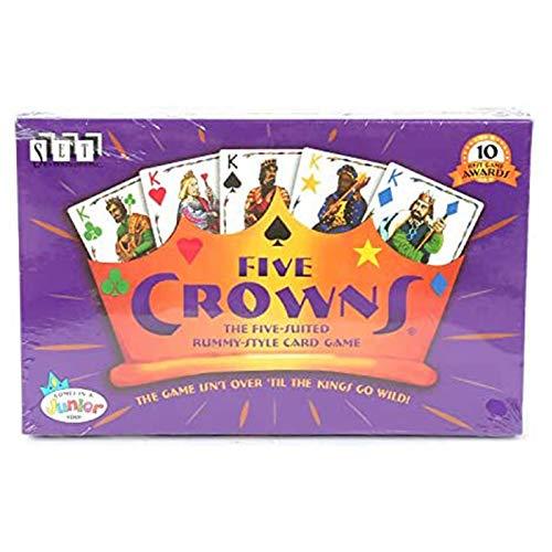 Huachaoxiang Romme Kartenspiel, Five Crowns Kartenspiel, Spaß Und Unterhaltung Mit Freunden Und Familie,Lila