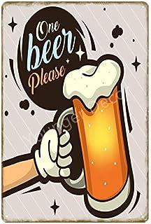 Roovtap Cartel de Chapa Cartel de Chapa Cartel de Chapa de Metal Vino Cartel de Pared de Vino Bar Bar Beer Club Hotel Hote...