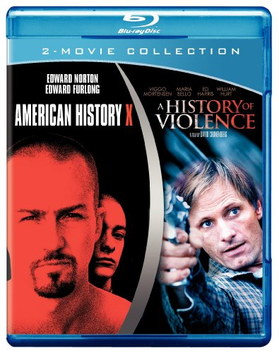 American History X & History in Violence [Blu-Ray]