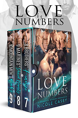 Love by Numbers Box Set 3: A Reverse Harem Romance Collection: Books 7-9 (Love by Numbers Collection) (English Edition)