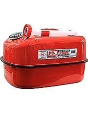 メルテック ガソリン携行缶 20L 消防法適合品 KHK [冷間圧延鋼板] 鋼鈑厚み:0.8mm Meltec FG-20