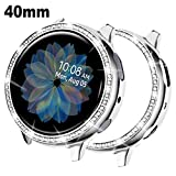 DABAOZA Compatible for Galaxy Watch Active2 Case 40mm, Bling...