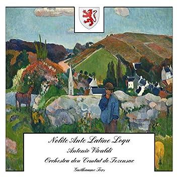 Vivaldi: Nolite Ante Latine Loqui