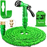 Suplong 50ft Garden Hose Expandable Water Pipe 3 Times Expanding Flexible Magic Hose