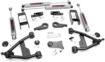 Rough Country - 24230 - 2.5-inch Suspension Leveling Lift Kit w/ Premium N3 Shocks for Select Chevy S10 / GMC S15 (Pickups, Blazer, Jimmy)
