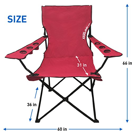 EasyGoProducts Giant Oversized Big Portable Folding Camping
