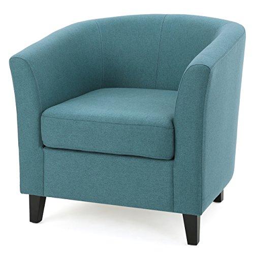 Christopher Knight Home Preston Arm Chair, Dark Teal