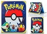 Coque pour Apple iPad Mini 1 2 3 4 5 Motif Pokémon Go Pikachu