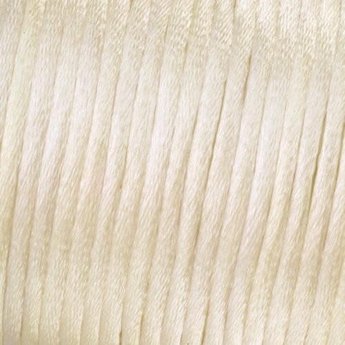EFCO - Flechtkordel Satin 1,5 mm / 6 m creme