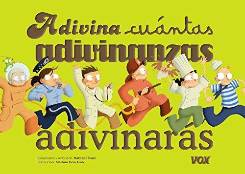 ¿Adivina cuántas adivinanzas adivinarás? (Vox - Infantil / Juvenil - Castellano - A Partir De 3 Años - Colección Libros Para Jugar)