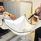 Beard Bib Catcher Shaving Badezimmer Pflege Schürze mit Saugnäpfe Bart Pflege Trimmer Haar...