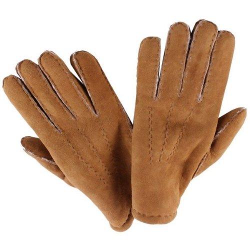 Dents Camel York agneau gants 8