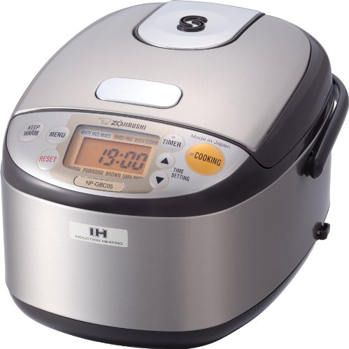 Zojirushi NP-GBC05XT Induction Heating System Rice Cooker and Warmer