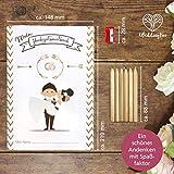 WeddingTree Malbuch Hochzeit für Kinder mit Buntstifte und Anspitzer - Gastgeschenke Hochzeit Kinder - Beschäftigung Hochzeit für Kinder - Hochzeitsmalbuch für Kinder - 3