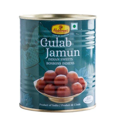 インド グラブジャムン 1kg 3缶 Haldiram's GULAB JAMUN グラバハール GUL BAHAR スイーツ デザート