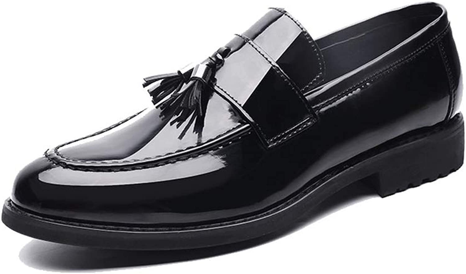 Men's Fashion Oxford Casual Classic Comfortable Cover Feet Suede Patent Leather Formal shoes. Cricket shoes