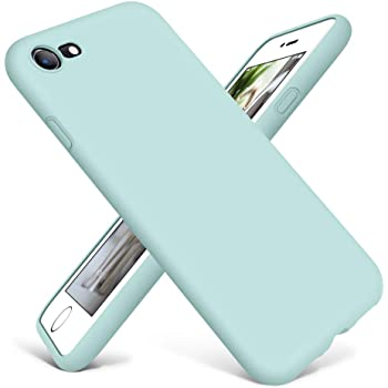 DTTO Compatible with iPhone SE 2020 Case, iPhone 7 8 Case Silicone, [Romance Series] Protective Phone Case with Honeycomb Grid Cushion for iPhone 7/8/SE 2020, Mint Green