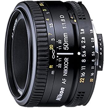 Nikon 50mm Nikkor F/1.8D AF Prime Lens for DSLR Camera